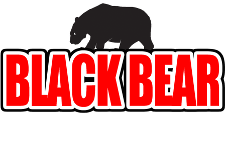 Black bear sports logo - photo#6